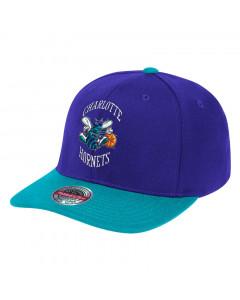 Charlotte Hornets Mitchell & Ness Wool 2 Tone Redline HWC Mütze