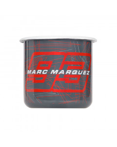 Marc Marquez MM93 Grey emajlirana skodelica