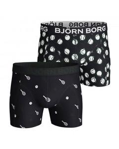 Björn Borg Sammy Tennis Match Core 2x Boxershorts