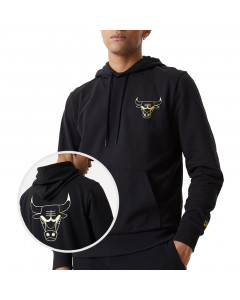 Chicago Bulls New Era Metallic Kapuzenjacke