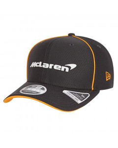 McLaren New Era 9FIFTY Team Replica Hex Era Anthracite Stretch Snap Mütze