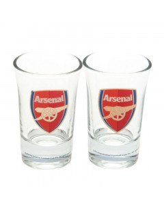 Arsenal 2x Schnapsglas