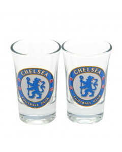 Chelsea 2x Schnapsglas