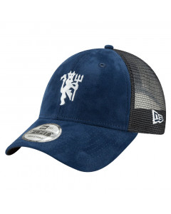 Manchester United New Era 9FORTY Mesh Navy Devil Mütze