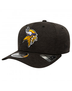 Minnesota Vikings New Era 9FIFTY Total Shadow Tech Stretch Snap Mütze