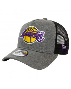 Los Angeles Lakers New Era 9FORTY A-Frame Trucker Jersey Essential kapa