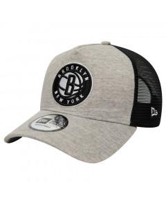 Brooklyn Nets New Era 9FORTY A-Frame Trucker Jersey Essential Mütze