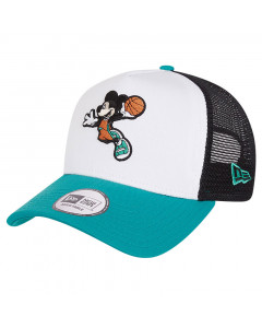 Mickey Mouse New Era 9FORTY A-Frame Trucker Character Sports Mütze