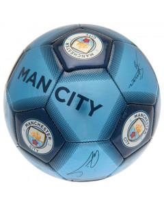 Manchester City žoga s podpisi 5