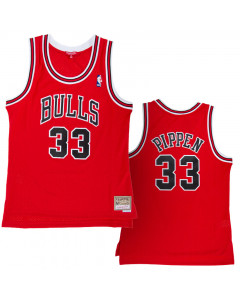 Scottie Pippen 33 Chicago Bulls 1997-98 Mitchell & Ness Swingman Damen Trikot