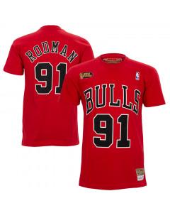 Dennis Rodman 91 Chicago Bulls Mitchell & Ness HWC majica