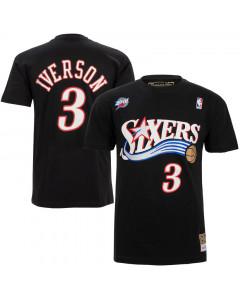 Allen Iverson 3 Philadelphia 76ers Mitchell & Ness HWC T-Shirt