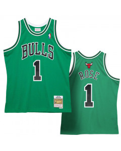 Derrick Rose 1 Chicago Bulls 2008-09 Mitchell & Ness Swingman dres