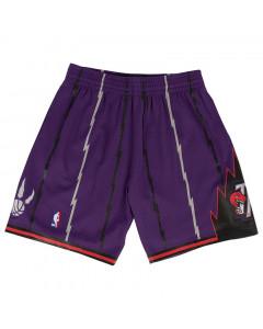 Toronto Raptors 1998-99 Mitchell & Ness Swingman Road kratke hlače