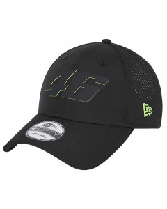 Valentino Rossi VR46 New Era 9FORTY Perforated Featherweight Poly kapa