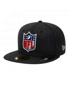NFL Logo New Era 59FIFTY Heather Mütze