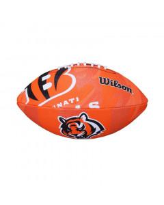 Cincinnati Bengals Wilson Team Logo Junior Ball für American Football