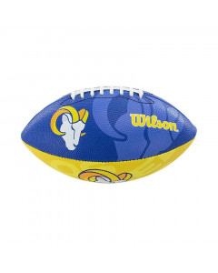 Los Angeles Rams Wilson Team Logo Junior lopta za američki nogomet