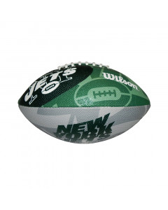 New York Jets Wilson Team Logo Junior lopta za američki nogomet