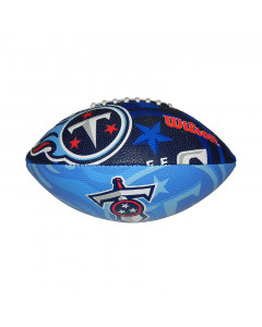Tennessee Titans Wilson Team Logo Junior Ball für American Football