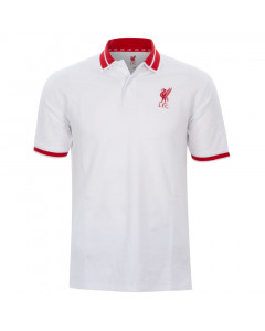 Liverpool White polo majica N°3