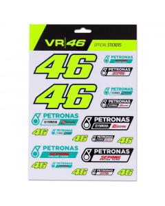 Valentino Rossi VR46 Petronas Yamaha SRT Aufkleber