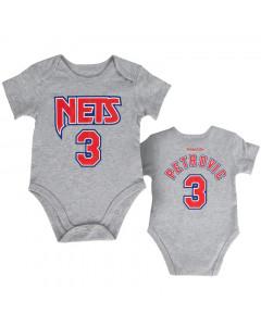 Dražen Petrović 3 New Jersey Nets Mitchell & Ness Baby Body