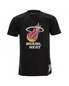 Miami Heat Mitchell & Ness Worn Logo HWC majica