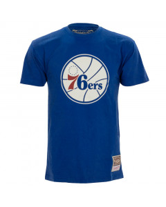 Philadelphia 76ers Mitchell & Ness Worn Logo HWC majica