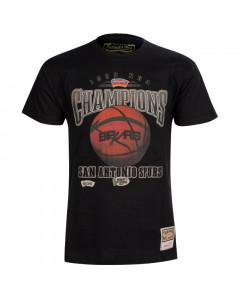 San Antonio Spurs Mitchell & Ness Champions Print HWC majica