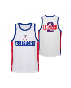 Leonard Kawhi Los Angeles Clippers Dominate Kinder Trikot