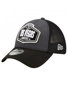 Las Vegas Raiders New Era 39THIRTY Trucker 2021 NFL Official Draft Mütze