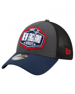 New England Patriots New Era 39THIRTY Trucker 2021 NFL Official Draft Mütze