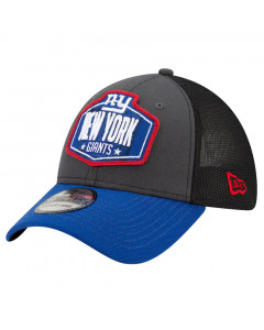 New York Giants New Era 39THIRTY Trucker 2021 NFL Official Draft kapa