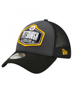 Pittsburgh Steelers New Era 39THIRTY Trucker 2021 NFL Official Draft kapa