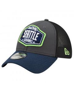 Seattle Seahawks New Era 39THIRTY Trucker 2021 NFL Official Draft kapa