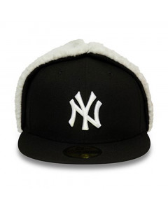 New York Yankees New Era 59FIFTY League Essential Dog Ear Mütze