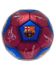 Barcelona žoga s podpisi