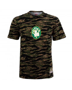 Boston Celtics Mitchell & Ness Tiger Camo Oversized T-Shirt