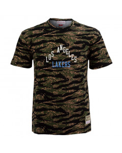 Los Angeles Lakers Mitchell & Ness Tiger Camo Oversized majica