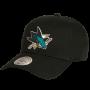 San Jose Sharks Mitchell & Ness Low Pro Mütze