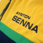 Ayrton Senna Helmet jopica s kapuco