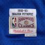 Dražen Petrović 3 New Jersey Nets 1992-93 Mitchell & Ness Road Swingman dres