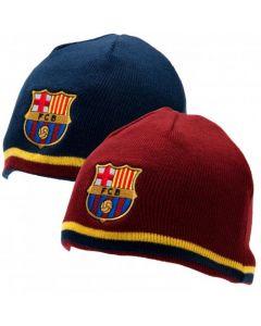 FC Barcelona obojestranska zimska kapa