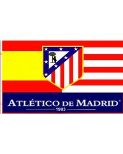Atlético de Madrid zastava 100x150
