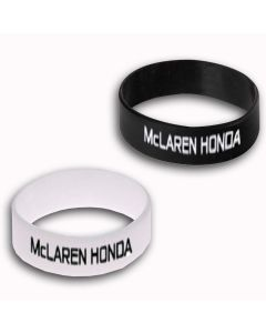 McLaren Honda 2x Silikon Armband
