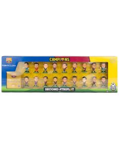 FC Barcelona SoccerStarz Team Pack Second #TRIPL3T Limited Edition figurice