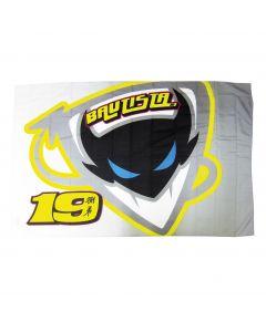 Alvaro Bautista AB19 zastava