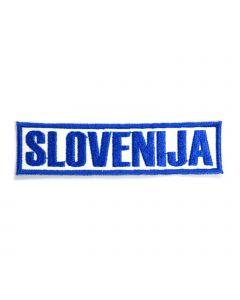 Slovenija našitek napis