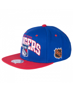 New York Rangers Mitchell & Ness 2 Tone Team Arch Snapback kapa